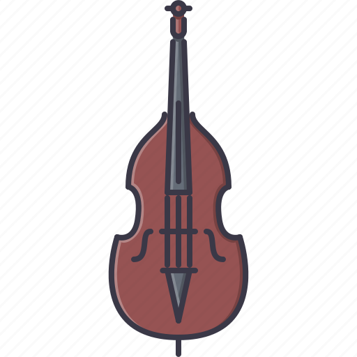 band, contrabass, instrument, music, song icon