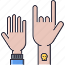 band, concert, hand, instrument, music, rock, song