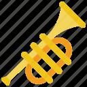 brass, instruments, music, trumpet