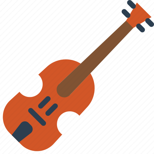 fiddle, instruments, music, strings, violin icon