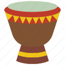 bongo, drum, instruments, music, percussion icon