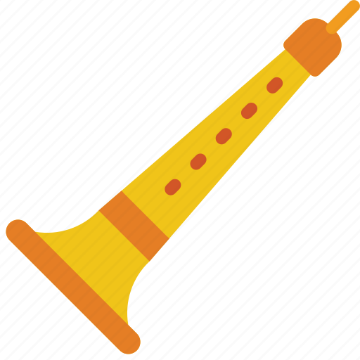 brass, clarinet, instruments, music, wind icon