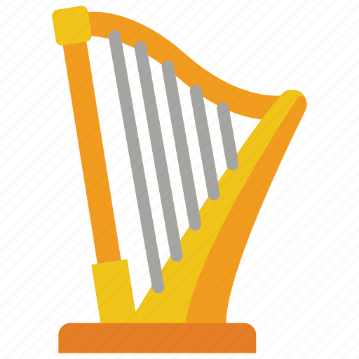 harp, instruments, music, strings icon