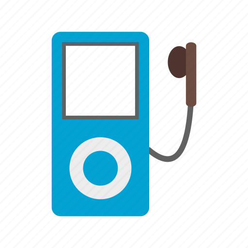 ipod, media, mp3, music, player, portable, technology icon