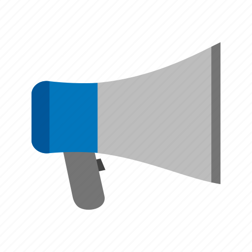 communication, hand, loud, loudspeaker, megaphone, phone, speaker icon