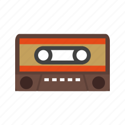 audio, cassette, mix, music, old, side, tape icon