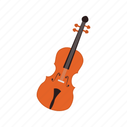 baroque, cello, fiddle, mozart, music, violin, wood icon