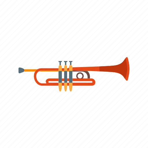 classical, instrument, music, musical, toy, trumpet icon