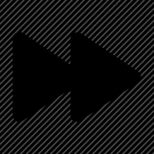 forward, media, multimedia, music, player, ui icon
