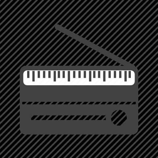 antique, audio, music, old, radio, set, tuner icon