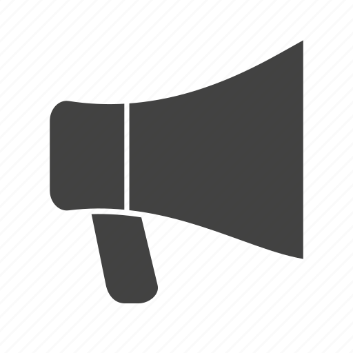communication, hand, loud, loudspeaker, megaphone, phone, speaker icon