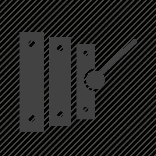fun, instrument, music, sound, toys, wood, xylophone icon