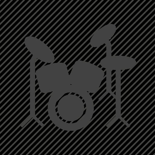 drum, drummer, drums, jazz, music, rock, set icon