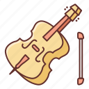 cello, instrument, music, sound icon