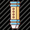 flute, instrument, music, sound icon