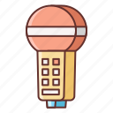karaoke, mic, music, sound icon