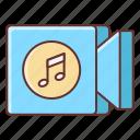 audio, music, sound, video