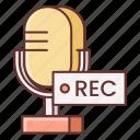audio, microphone, recording, studio icon