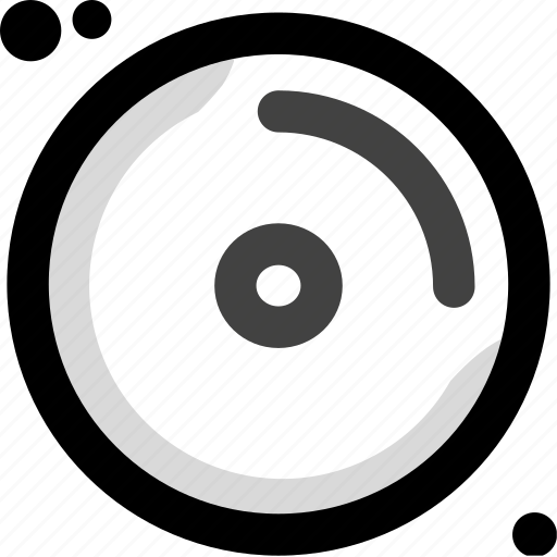 cd, compact, digital, disk, music, play, player icon