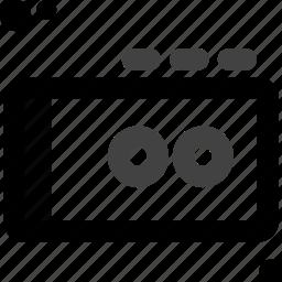 audio, cassette, music, radio, record, recorder, walkman icon
