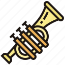 classical, jazz, music, orchestra, trumpet