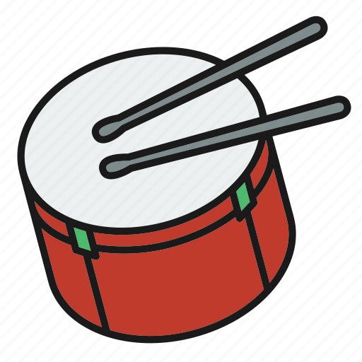 drum, entertainment, music, music tool hit, musical, rhythm, song icon