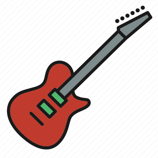 electric, entertainment, guitar, music, musical, song, stringed instrument icon