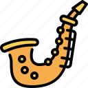 saxophone, jazz, music, instruments, musical, orchestra, play