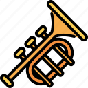 trumpet, jazz, music, instruments, musical, play, orchestra