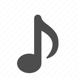 eighth note, music, music note, music notes, musical, note, notes, sheet music icon