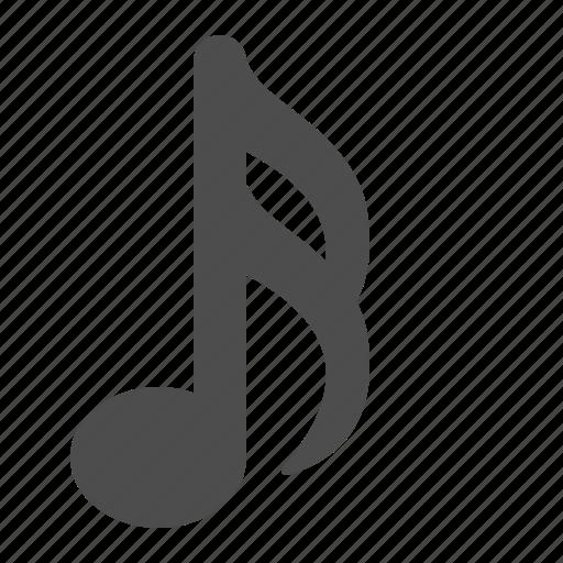 music, music note, music notes, musical, note, notes, sheet music, sixteenth icon