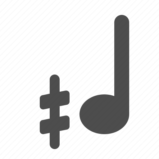 demisharp, music, music note, music notes, musical, note, notes, sheet music icon