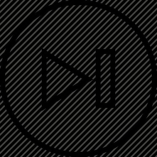 audio, music, next, ui icon icon