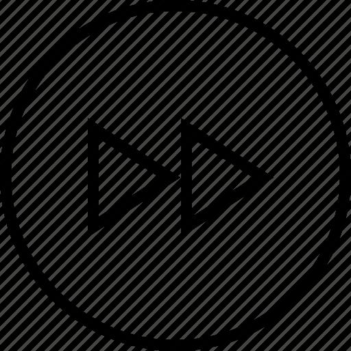 forward, media, next, ui icon icon