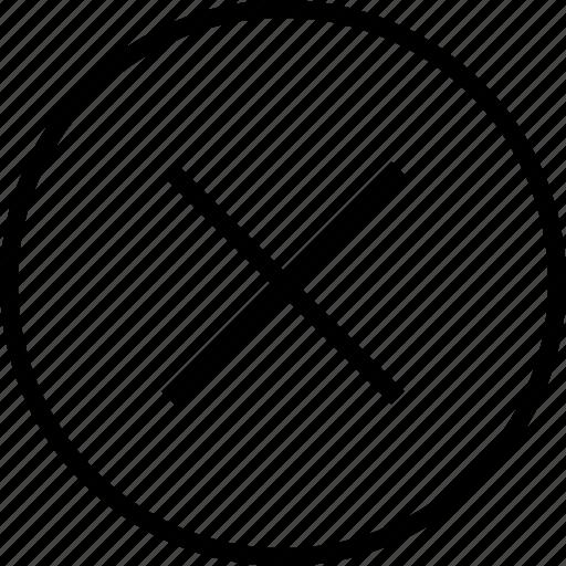 close, delete, music, ui icon icon