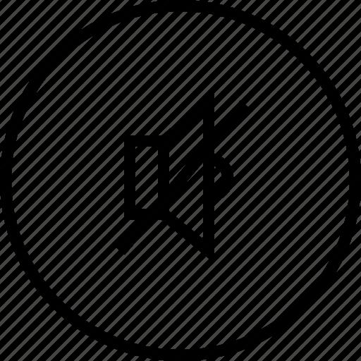 audio, music, mute, sound icon
