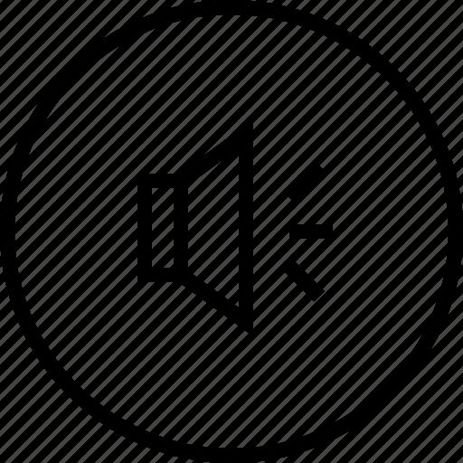 audio, music, speaker, ui icon icon