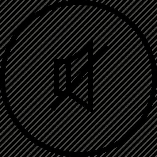 audio, music, mute, ui icon