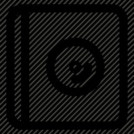 audio, dvd, music, play icon