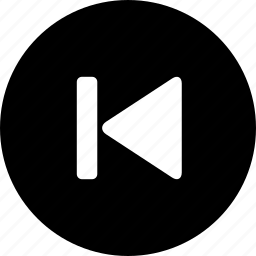 before, prev, previous icon