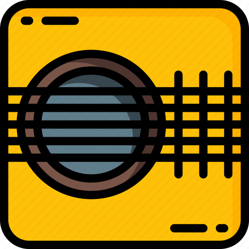 guitar, instruments, music, strings icon