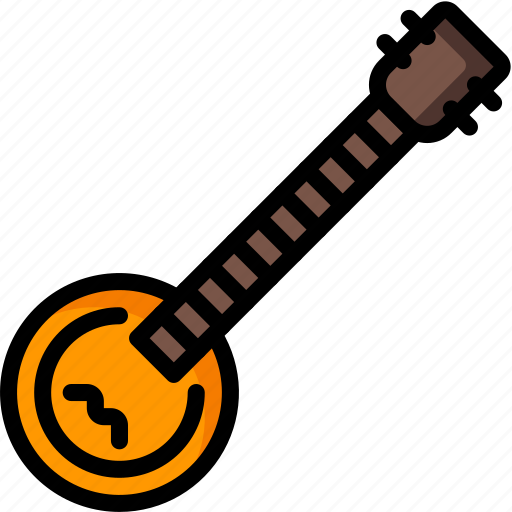 banjo, instruments, music, strings icon