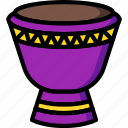 bongo, drum, instruments, music, percussion
