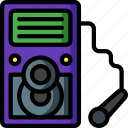 karaoke, machine, media, music, player, sing icon