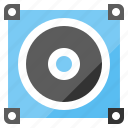 amplifier, audio, loudspeaker, music, song icon