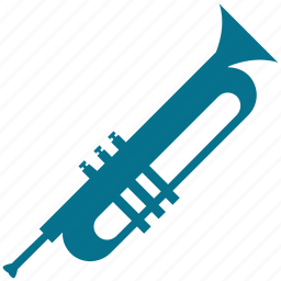 horn, instrument, music, trumpet icon