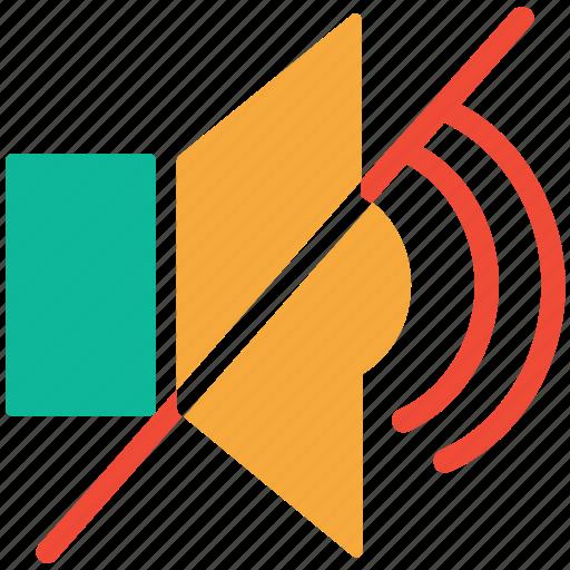 mute, silent, sound off, speaker icon