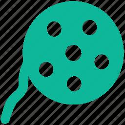 cinema, film real, film roll, movie icon