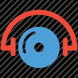 music, record, sound, vinyl icon