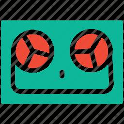 music recording, record, recorder, sound recorder icon